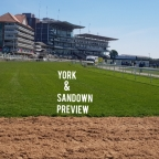 Grand Cup & Scurry Stakes Day Preview. (York & Sandown)(15/06/2019)