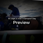 St Leger & Irish Champions Day Preview. (14/09/2019)