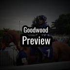 Goodwood Preview. (25/09/2019)