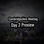 Newmarket Cambridgeshire Meeting Preview. (Friday) (27/09/2019)