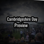 Cambridgeshire Day Preview. (28/09/2019)