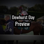 Newmarket Dewhurst Day Preview. (12/10/2019)