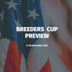 Breeders Cup 2020 Preview (Friday)