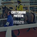 Cheltenham November Meeting Preview (Sunday)